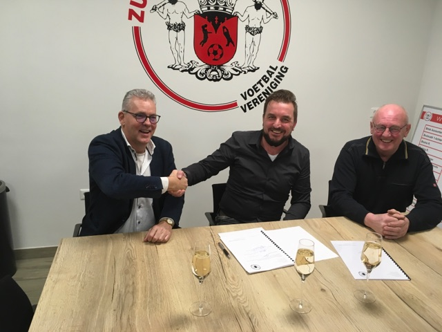Contractverlenging met trainer Harry Warmelink